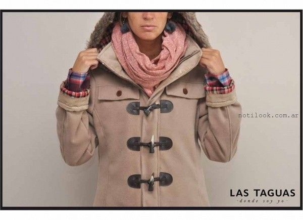 abrigos otoño invierno 2015 las Taguas