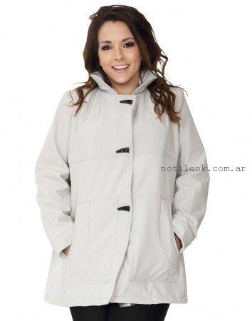 abrigos talles grandes invierno 2015 portofem