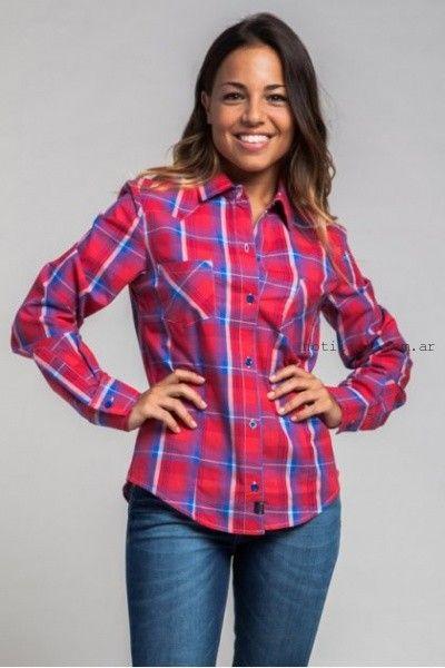 camisas leñadoras hendy 2015