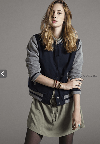campera universitaria invierno 2015 levis
