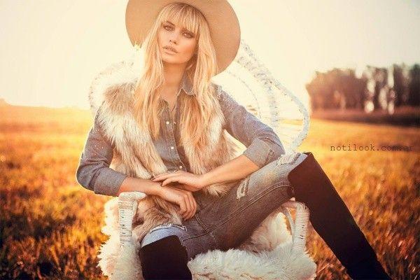 chaleco de piel sintetica sweet invierno 2015
