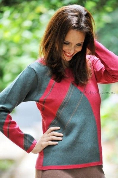 di madani sweater tejidos invierno 2015