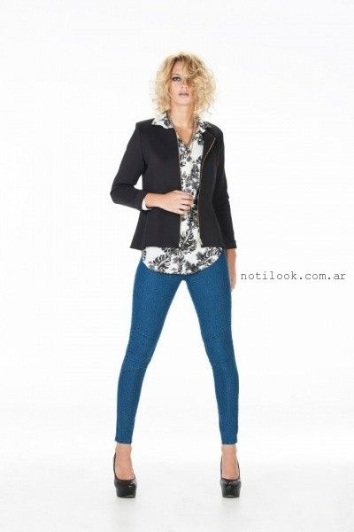 jeans chupin Claudia Rubinsztein 2015