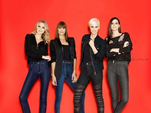 jeans otoño invierno 2015 Adriana Costantini