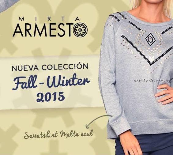 look casual para mujer Mirta Armesto otoño invierno 2015