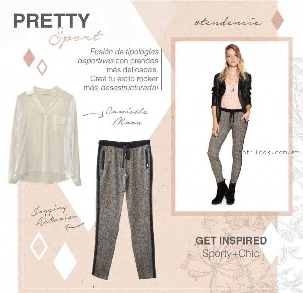 look sporty chic invierno 2015 try me