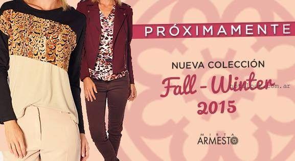 looks urbanos para mujer Mirta Armesto otoño invierno 2015