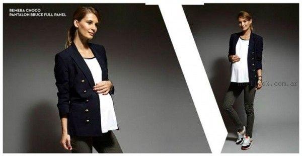 moda para embarazadas invierno 2015 Maa Maternity