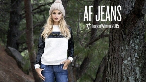 moda urbana informal AF JEANS invierno 2015