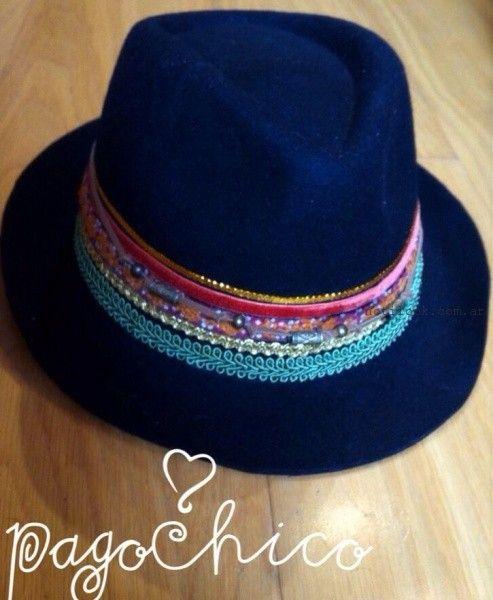 sombrero  - Pago Chico invierno 2015
