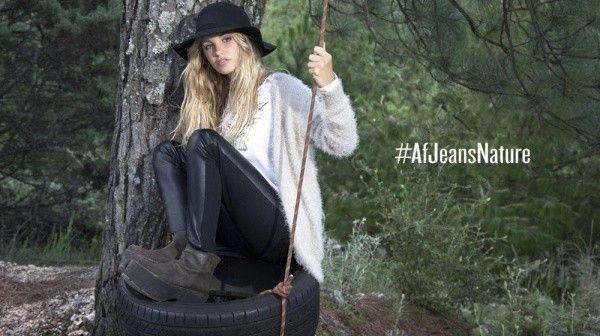 sweater tejido y calza engomada invierno 2015 AF JEANS