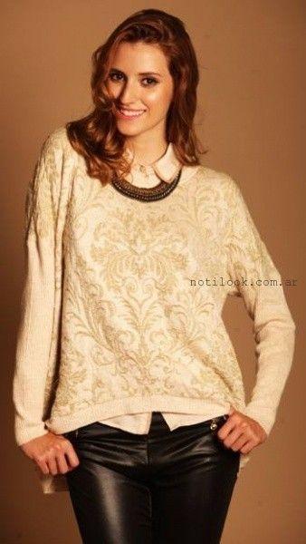sweaters bordado vars otoño invierno 2015