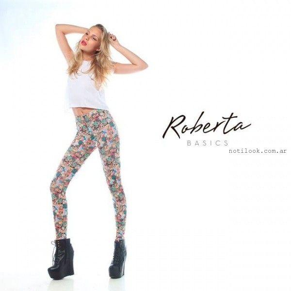 Roberta Basics calzas invierno 2015