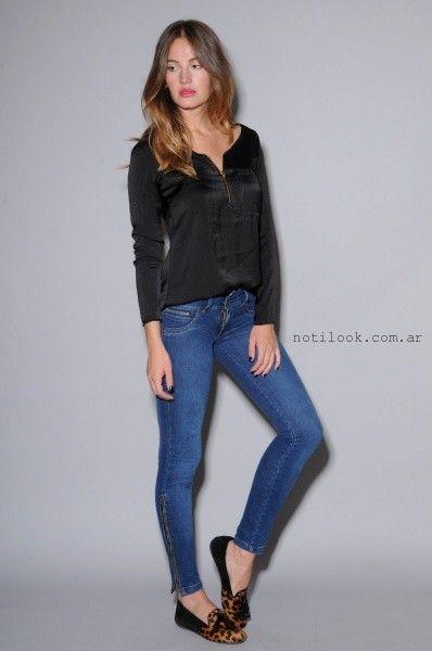 Viga Jeans chupin elastizado invierno 2015
