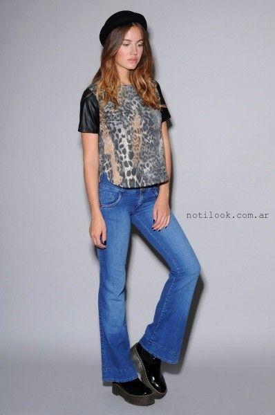 Viga Jeans oxford invierno 2015