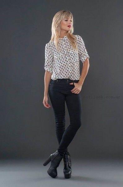 alma jeans pantalones elastizados invierno 2015