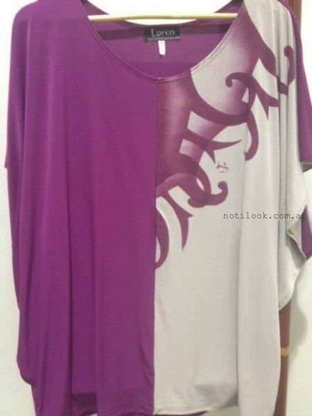 blusas talles grandes invierno 2015 loren