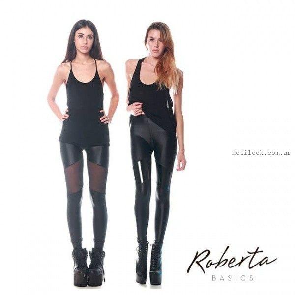 calza negra invierno 2015 Roberta Basics