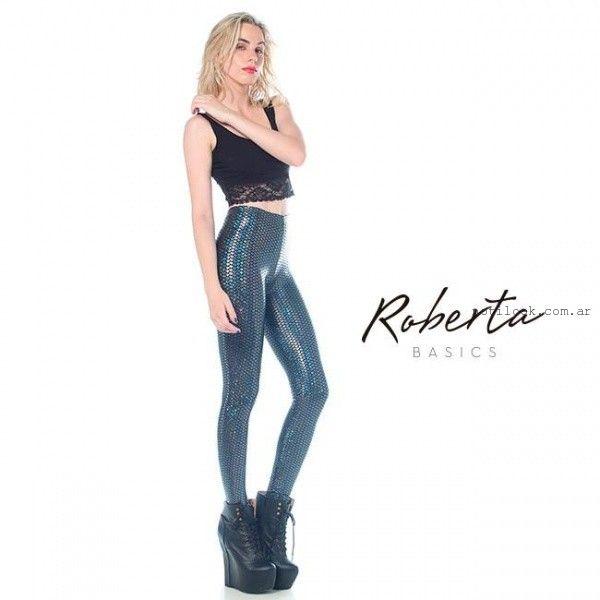 calzas con brillos invierno 2015 Roberta Basics