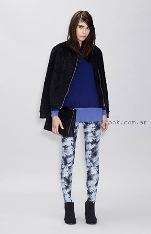 calzas estampada invierno 2015 ASTERISCO