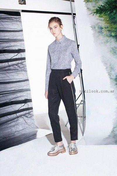 camisas mangas largas femeninas invierno 2015 delaostia