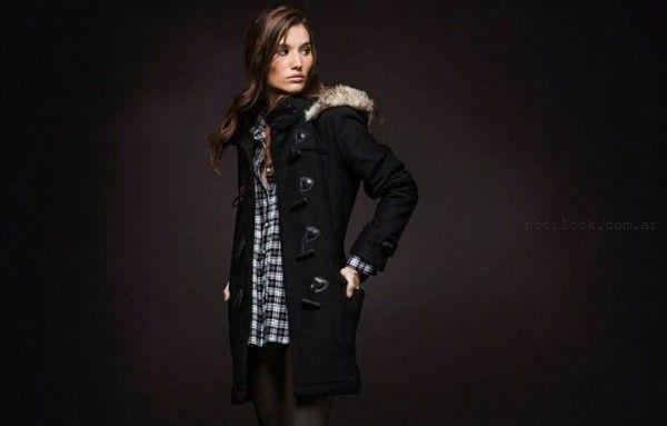 camperas largas giesso mujer invierno 2015