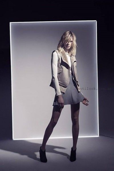 chalecos mujer invierno 2015 doma Leather
