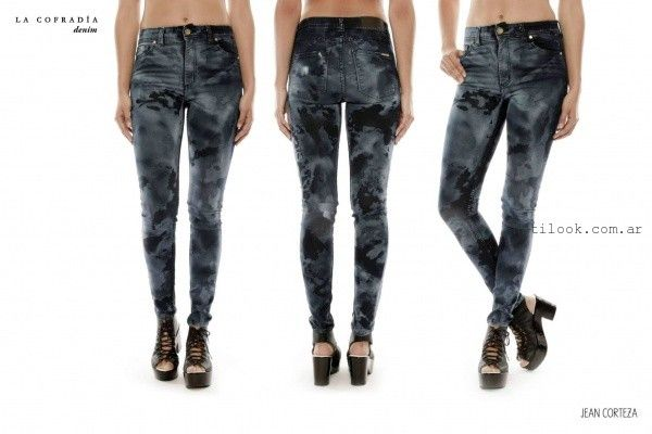 jeans batik invierno 2015 la cofradia