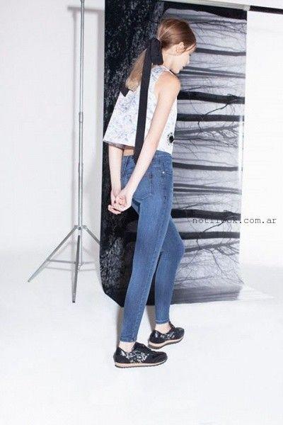 jeans chupin invierno 2015 delaostia