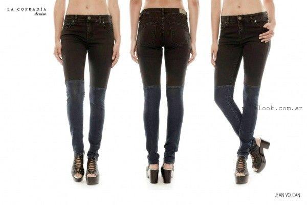 jeans chupin invierno 2015 la cofradia