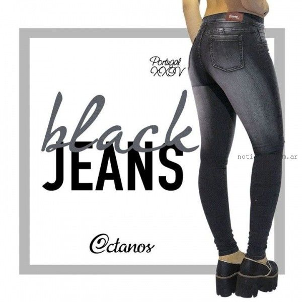 jeans elastizados invierno 2015 octanos