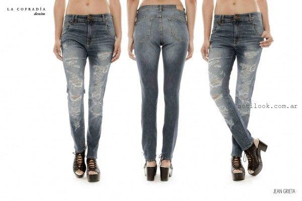 jeans rotos la cofradia invierno 2015