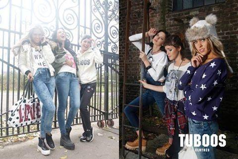 moda para adolescentes ivierno 2015 Tuboos