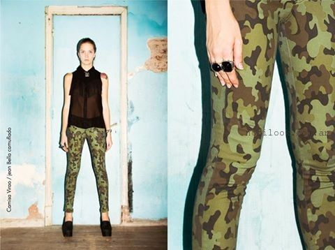 pantalon estampa camuflado Agarrate Catalina