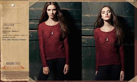 sweater invierno 2015 Florencia Llompart