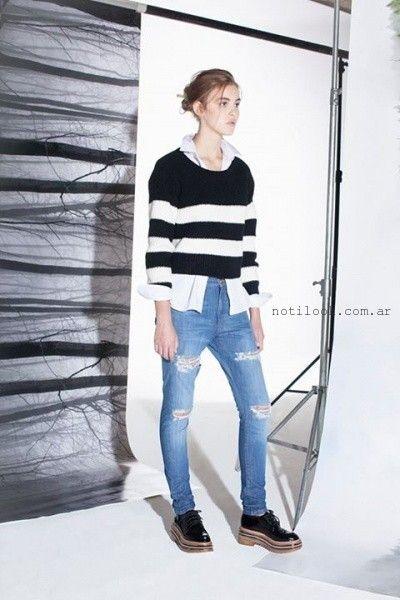 sweater tejidos invierno 2015 dela o