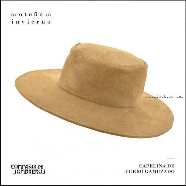 ef33c2c40c43e Compañia de Sombreros de cuero invierno 2015