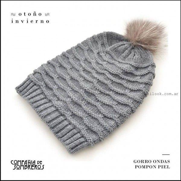 Compañia de Sombreros gorro tejido invierno 2015}