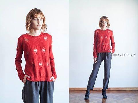 Julia de Jong sweater Tejidos invierno 2015