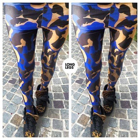 calzas estampadas  Log Leg invierno 2015