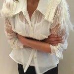 Monica acher – Camisas para señoras otoño invierno 2015