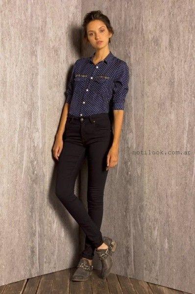 camisas femeninas invierno 2015  Key Biscayne