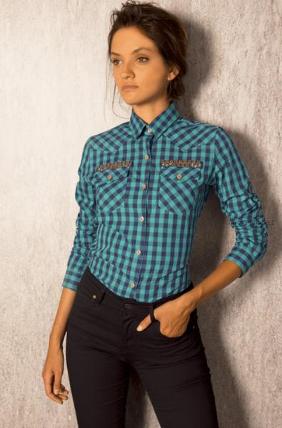 a05c4a9ee8237 camisas para mujer invierno 2015 Key Biscayne