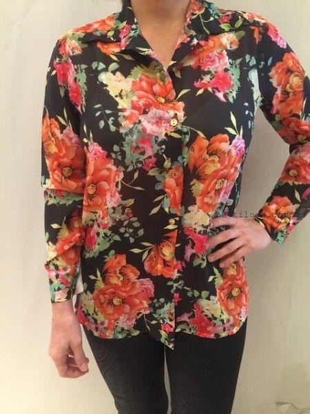 camisas para señoras Monica acher invierno 2015