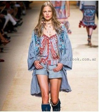 camisola estilo bohemio chic verano 2016