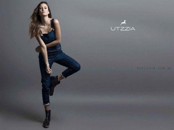 jardinero de jeans invierno 2015 utzzia