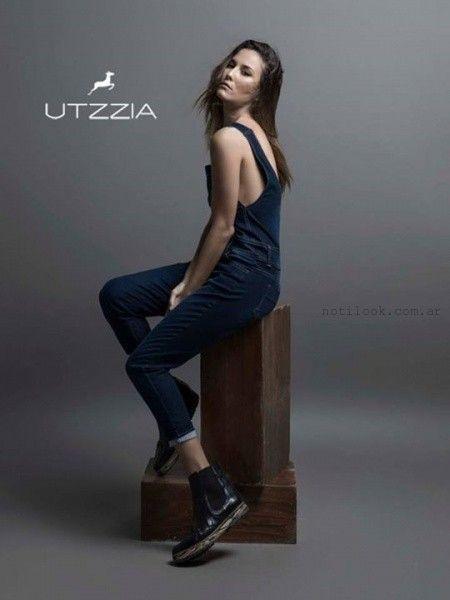 enterito de jeans mujer invierno 2015 utzzia