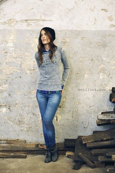 jeans invierno 2015 mistral mujer
