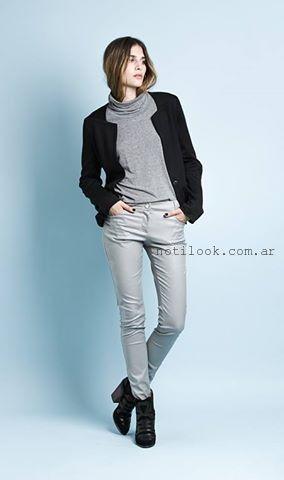 pantalones de vestir invierno 2015 Sans Doute