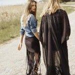 prendas con flecos - estilo boho chic tendencia verano 2016